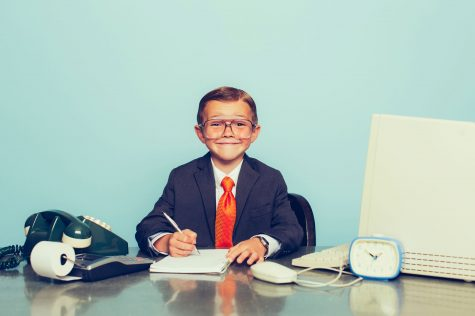 A young accountant