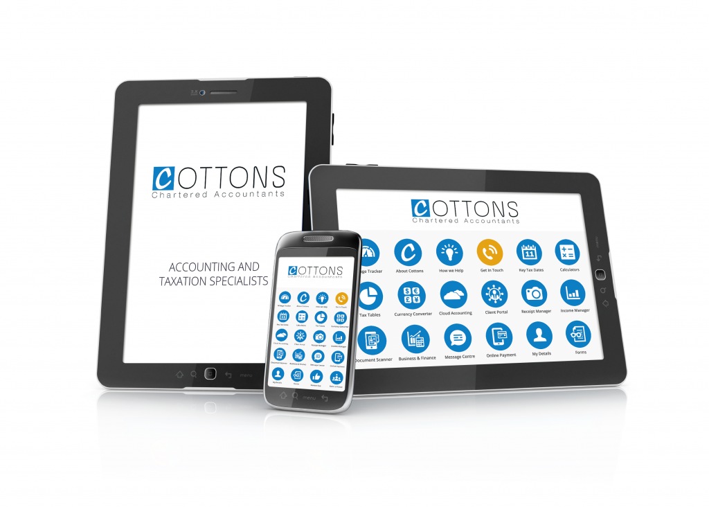 Cottons app displayed on a variety of devices