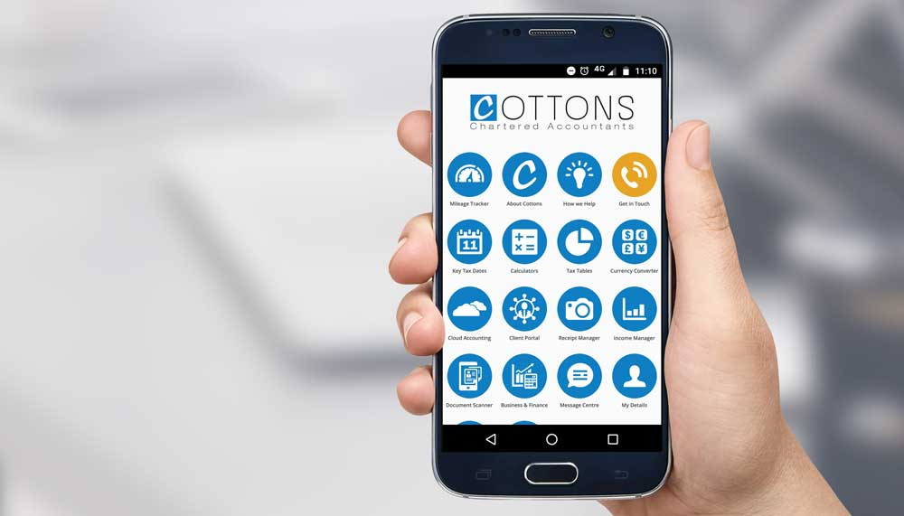 The Cottons App for Android and IPhone