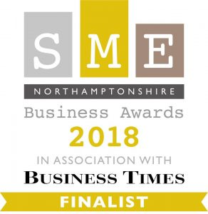 SME Northamptonshire Finalists Badge