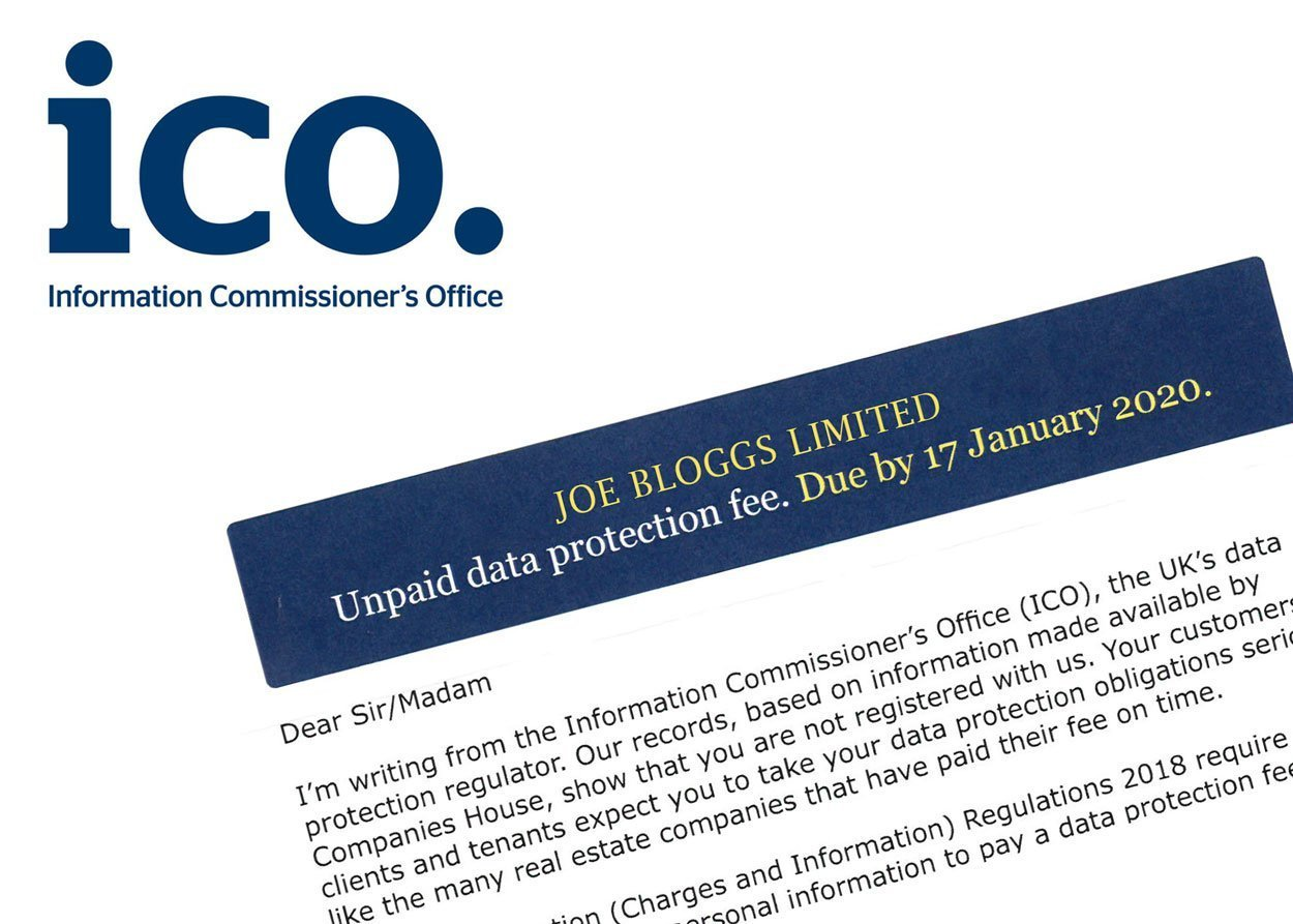 Unpaid data protection letter