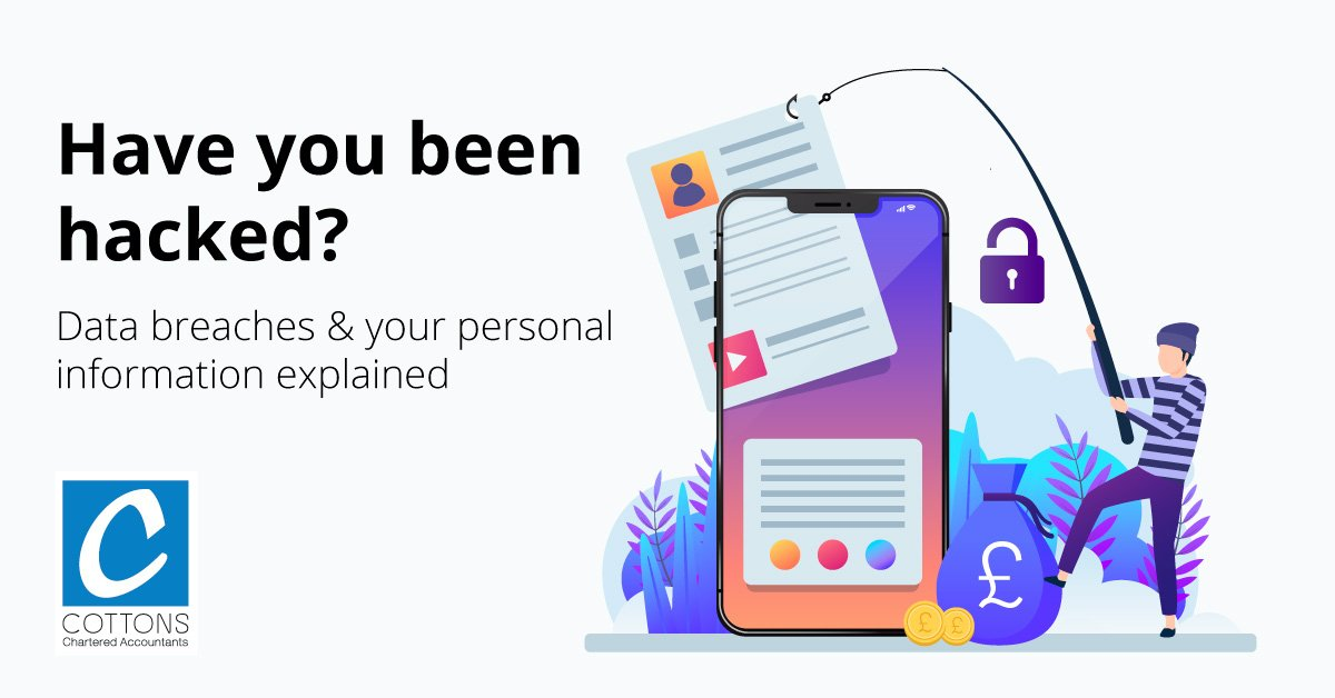 Have you been hacked? Data breaches & your personal information